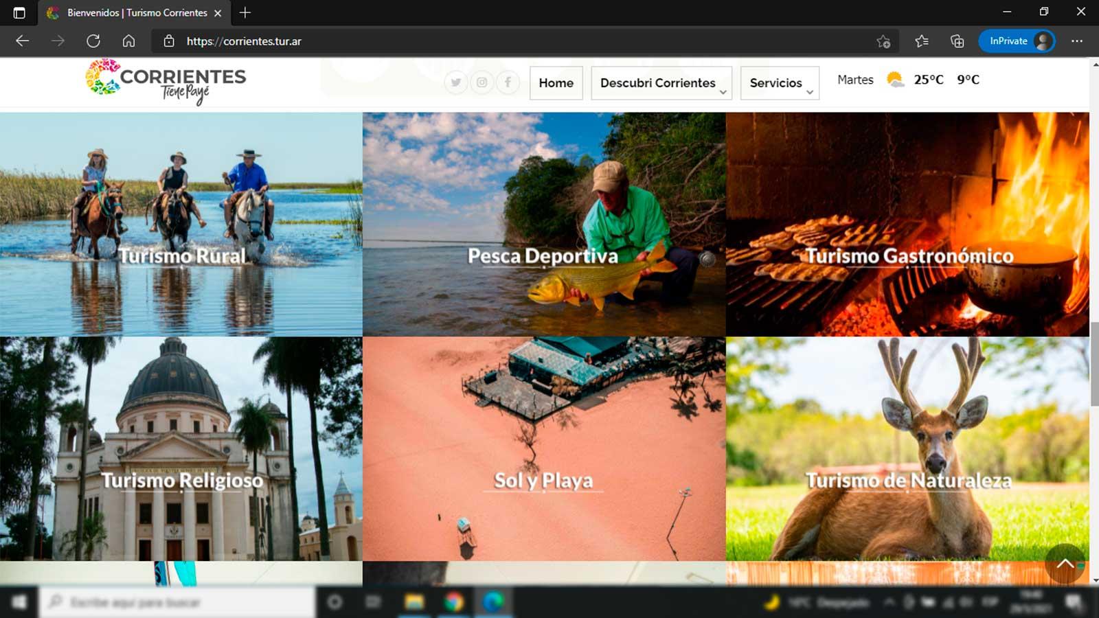 Sitio Oficial de Promoción del Ministerio de Turismo de Corrientes