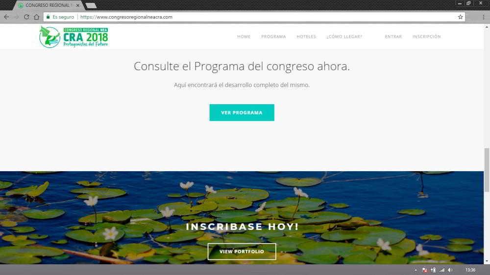 Congreso Regional NEA de CRA 2018