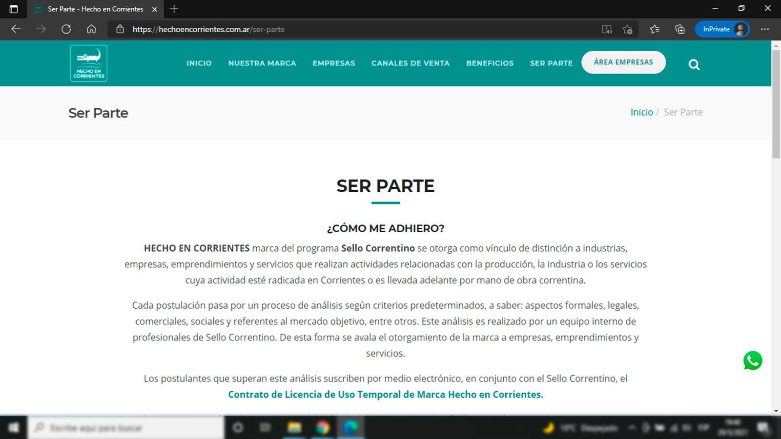 Hecho en Corrientes